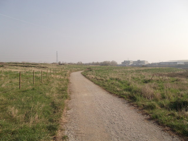 Saxon Shore Way to Kemsley