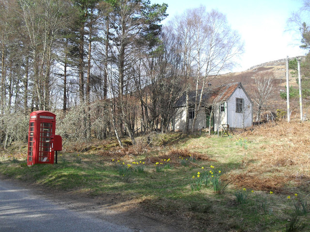 Mission hall and Phonebox