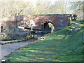SK3872 : Bridge & Lock No1 near Tapton by John Jennings