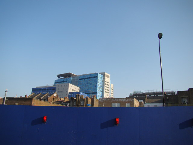 View of the towerblock on Raven Row from Durward Street #2