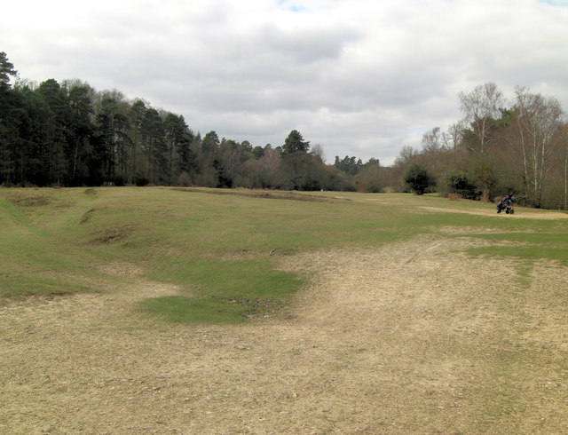 Bramshaw Golf Club Forest Course King's Garn hole