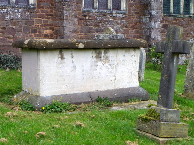 Chest tomb, St Disen's Church