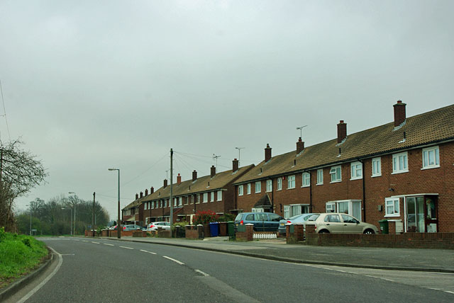 Houses on Stifford Clays Road