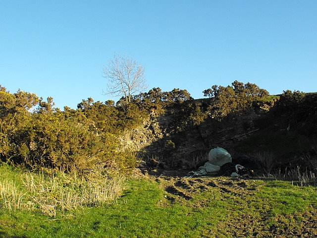 Small quarry on Cefn y Coed near White Hall Farm