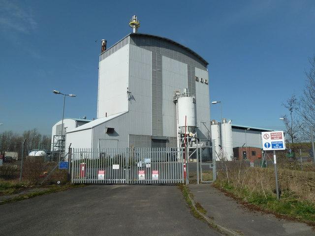 Defunct Arbre power station