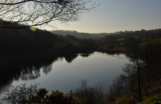 West Somerset : Clatworthy Reservoir