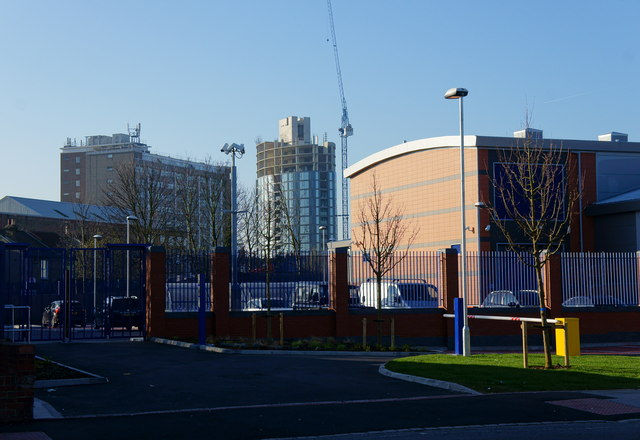 Metropolitan Police Custody Centre, Windmill Road, Croydon