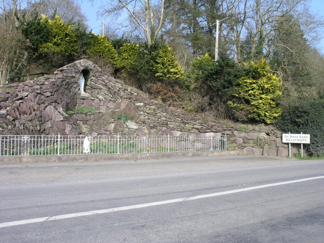 Grotto, outside Ballyduff