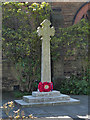 SD6301 : War Memorial, Bickershaw Parish Church by David Dixon