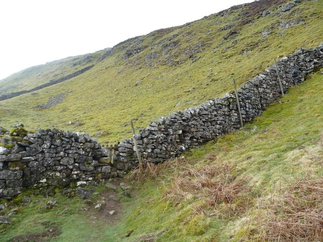 Gated stile on the Pennine Way