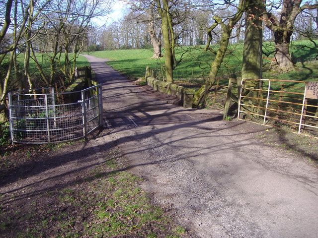 Bridge and Cattle Grid, Brindle Lodge