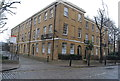 TQ3480 : Houses on Wapping High St by Nigel Chadwick