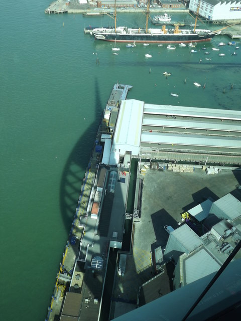 Spinnaker Tower Shadow