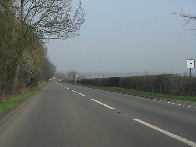 A49 north of Painsbrook Lane
