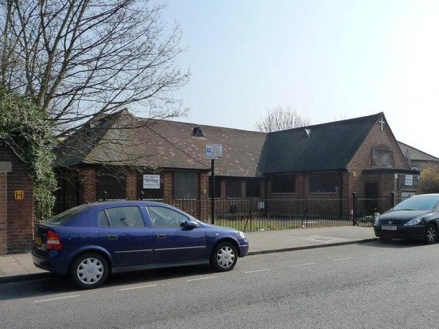 The former Trafalgar Christian Centre