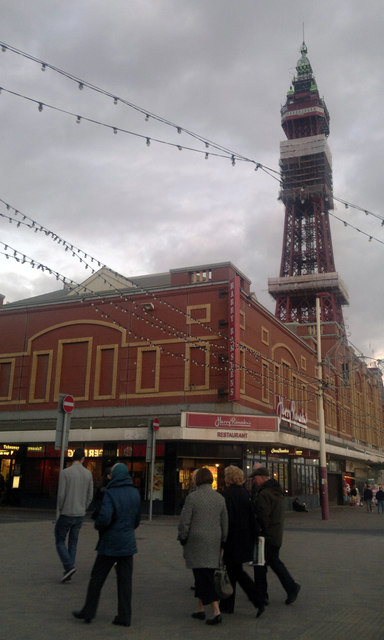 Harry Ramsden's and The Blackpool Tower