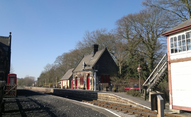 Darley Dale station, Peak Rail