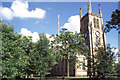SD6827 : Blackburn Cathedral, west front by Christopher Hilton