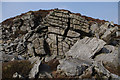 SD5360 : Gritstone outcrop near Little Windy Clough by Ian Taylor