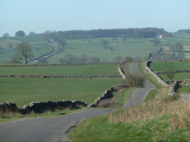 Horse Lane towards Monyash