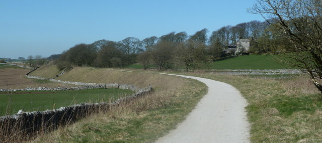 High Peak Trail passing Cotesfield Farm