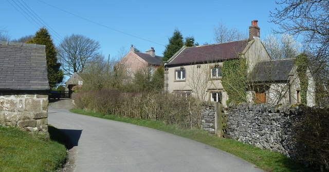 Houses in the hamlet of Parsley Hay