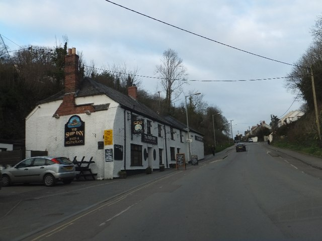The Ship Inn, Gonvena Hill