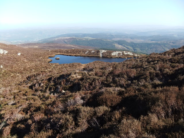 Small tarn on Creigiau Gleision