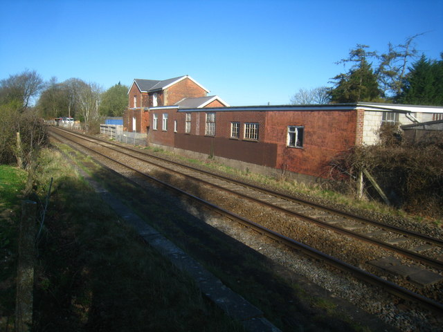 Remains of Oakley Station