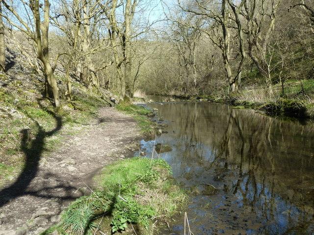 River Lathkill in Lathkill Dale