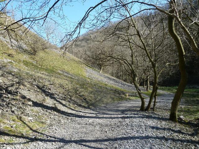 Lathkill Dale footpath