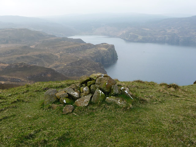 Summit cairn on Maol na h-Àirde