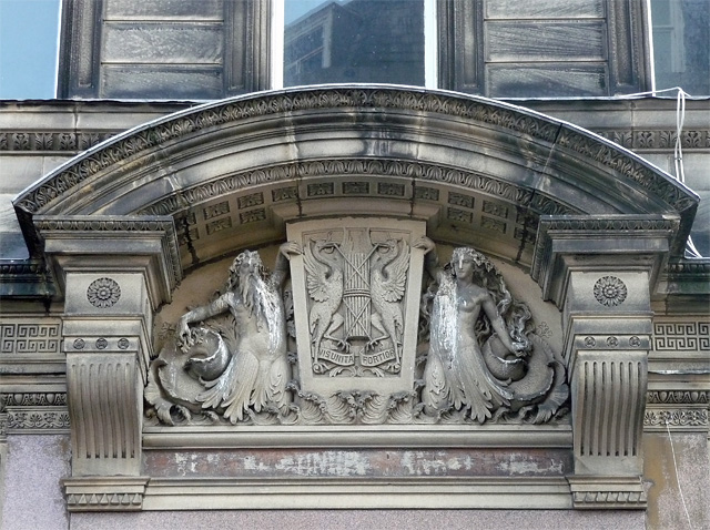 Detail of 43-47 Bold Street, Liverpool