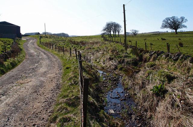 Farm Track, Barnshake Farm
