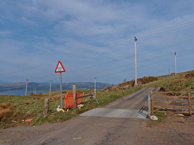 Cattle Grid, Dougliehill Road