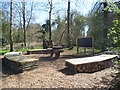 TQ1273 : Outdoor classroom, Crane Park by Ian Yarham