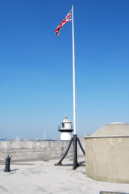 Union Jack on Southsea Castle