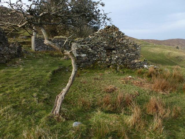 Ruins at Lough Nacroaghy