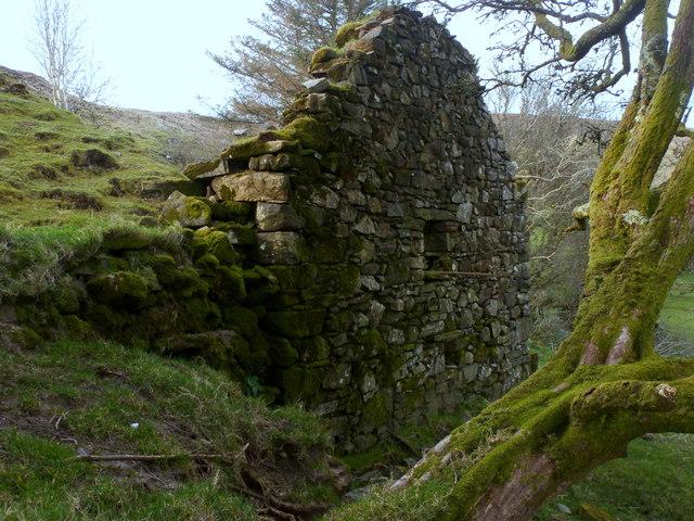 Stone gable - Nacroaghy Lough