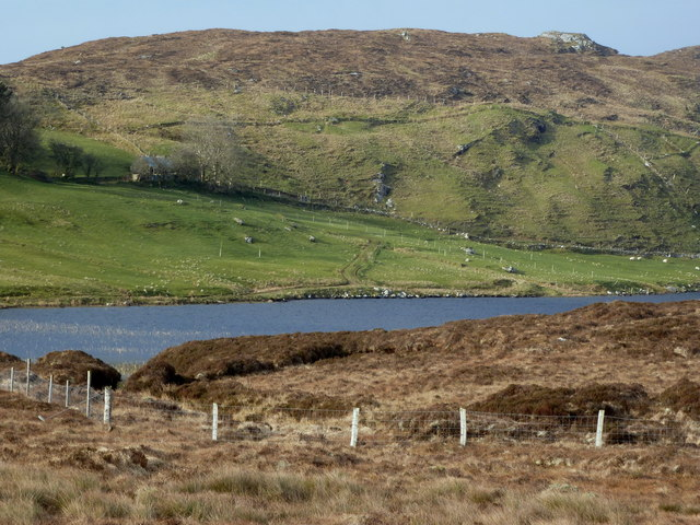Approach to Lough Nacroaghy
