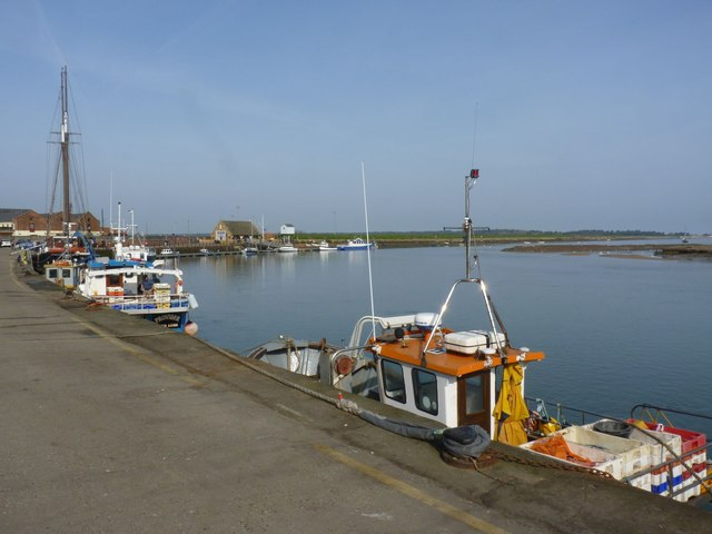 Harbour, Wells-next-the-Sea, North Norfolk