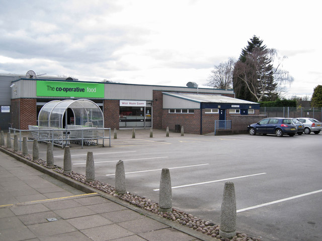 West Heath shopping centre