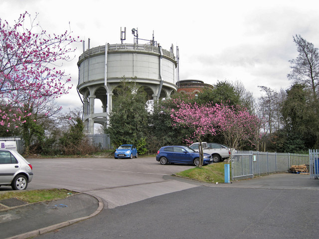 Water towers, West Heath