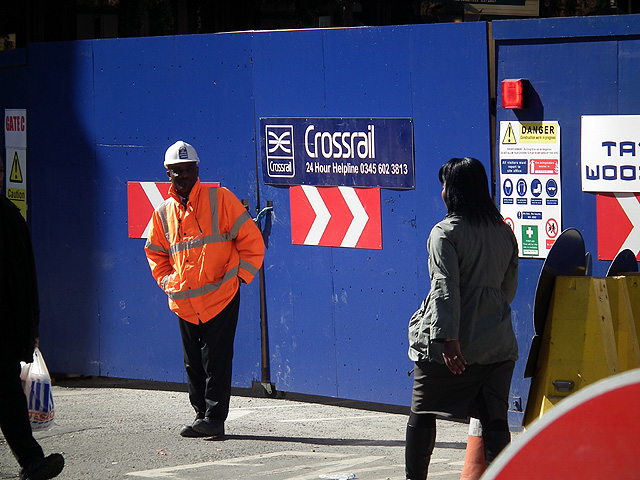 Liverpool Street closed for Crossrail construction