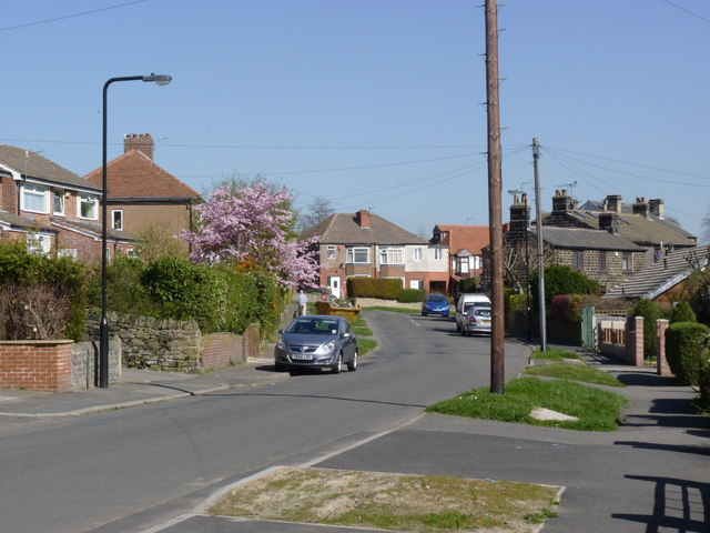 Studfield Hill, looking north east