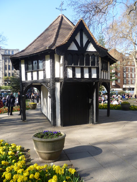 The centre of Soho Square