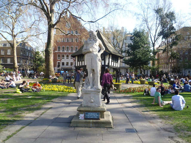 King Charles II in Soho Square