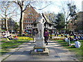 TQ2981 : King Charles II in Soho Square by Ian Yarham