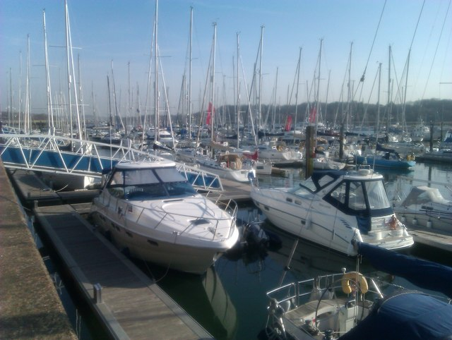Marina on the River Hamble