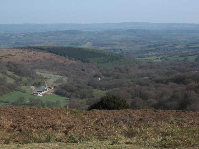 View Towards Dyffryn